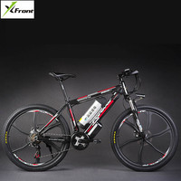 Original X Front brand 48V 500W 20A Lithium Battery Mountain Electric Bike 27 Speed Electric Bicycle downhill Cycling ebike