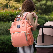 Baby Mummy Nappy Diaper Bags Polyester Travel Backpack Large Capacity Mummy Maternity Backpack Nursing Bag for