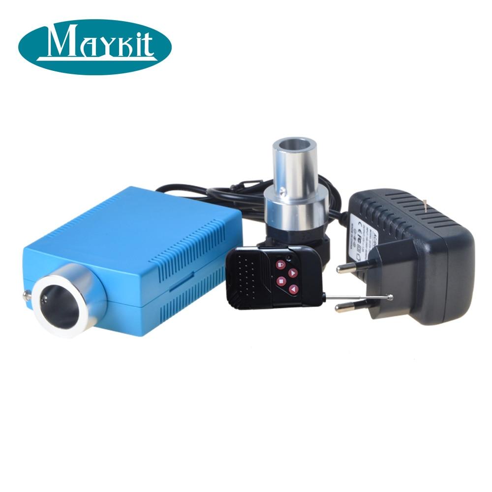 Maykit Multi Function 6 Watt LED Optical Fiber Starry Sky Light Source With RGB Color Changine For Santa Print Canvas Wall Art цена 2017