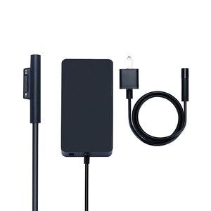 Image 1 - Nouveau chargeur Portable 15V 4A 65W adaptateur secteur pour Microsoft Surface Pro 4 tablette pour Surface Book alimentation avec Port USB 5V