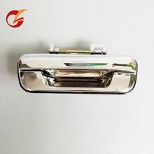 Use para isuzu pickup d max maçaneta da porta traseira porta traseira lidar com 2002 2003 2004 2005 2006 2007 2008 2009 2010 2011 2012 chrome