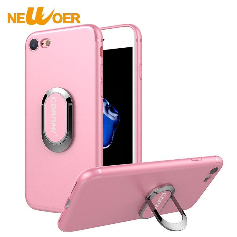 TH-Store Newoer TPU чехол для iPhone 6 S плюс листового металла Бизнес держатель чехол для iPhone 6 S Plus/6 S +