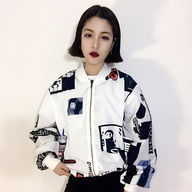 Aliexpress.com : Buy Korean Street YOKOSUKA bomber jacket ...
