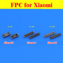 1x New Inner FPC Connector Battery Holder Clip Contact repair parts for Xiaomi Redrice 2 2A 2S 4G Hongmi note Redmi 1S 4G(China)