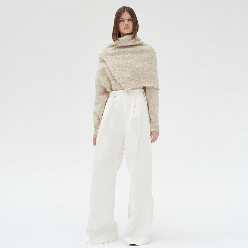 Casual Oxant Gray Pantalon Bandage Automne Coréenne Haute Femmes Noir Pants Nouveau 2019 Femelle Jambe Pants Taille Mode Pants white Large Printemps Les Pour green FFrwqdf