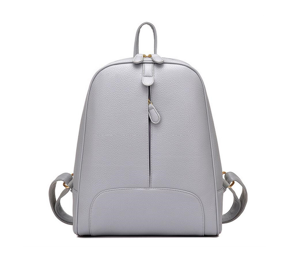 women PU leather backpack small grey bag cheap backpacks for teenage girls school bags  female travel backpack black back pack korean women backpacks travel package black soft pu leather shoulder bag schoolbags for teenage girls female leisure bag mochila