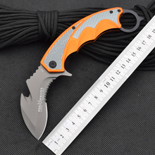 Karambit Knife Claw Cutter Fox Folding Knifes 5CR15MOV Steel Blade Survival Hunting Camping Tactical Knives Outdoor tools ss5