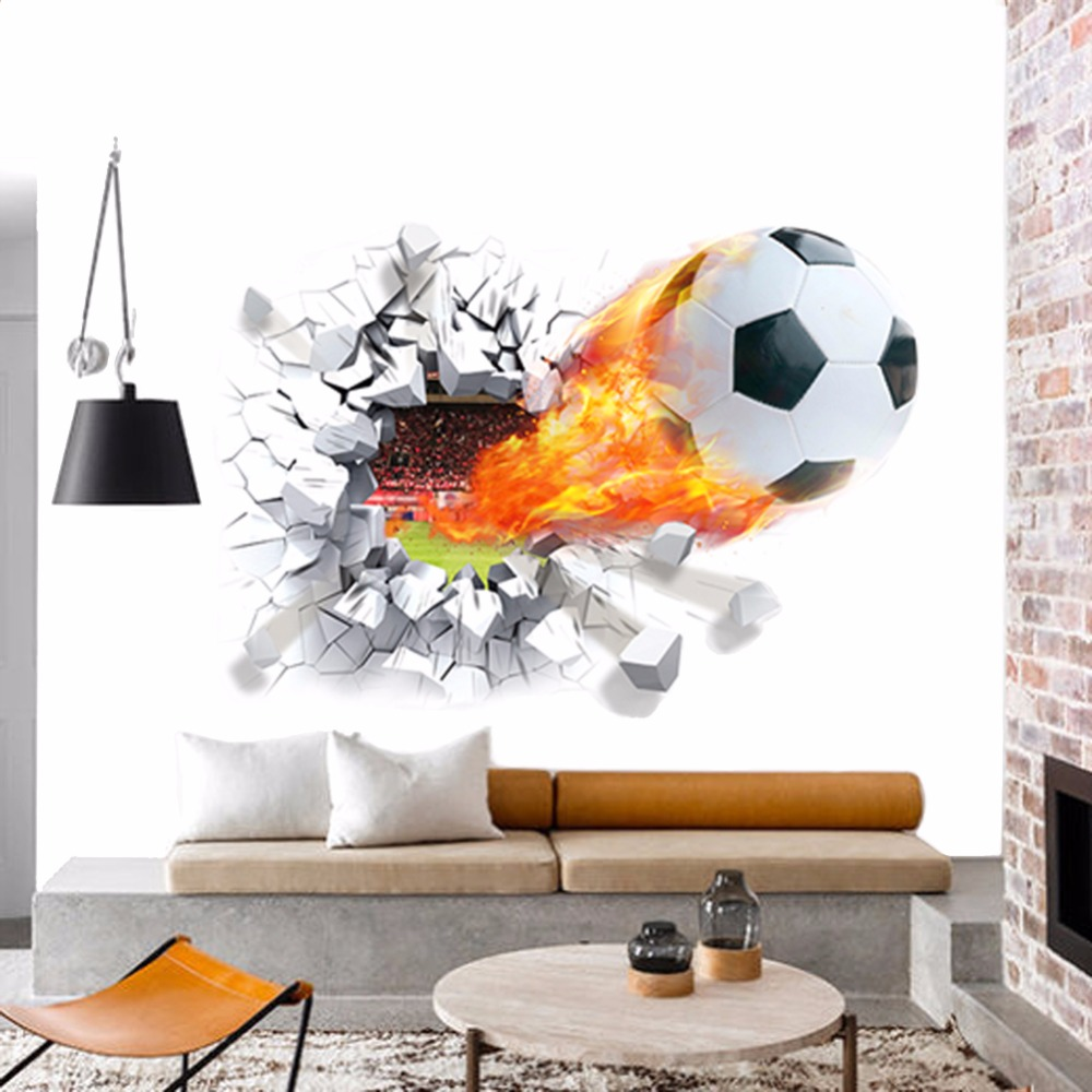 Soccer Bedroom Decor Popular Soccer Room Decor Buy Cheap Soccer Room Decor Lots From