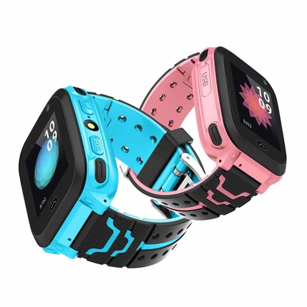 DS38 הילד GPRS Tracker SOS מיצוב מעקב חכם טלפון ילדים בטוח שעון יום הולדת מתנות עבור בנות בני