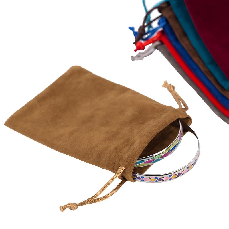 Aliexpresscom Buy Jewelry Bag 7X9cm Red Velvet Bag For