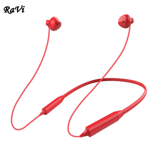 RAVI Bluetooth Earphone Wireless Headphones IX Earphones for Xiaomi iPhone X 8 Apple Headphone with Mic Sports Earbuds kulaklik