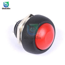 2Pin Mini 12 Mm 1A Tahan Air Switch On Off Pbs33b 12 V Sesaat Push Button Switch Non-penguncian PBS-33B(China)