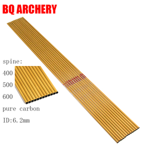 12pcs Archery Pure Carbon Arro