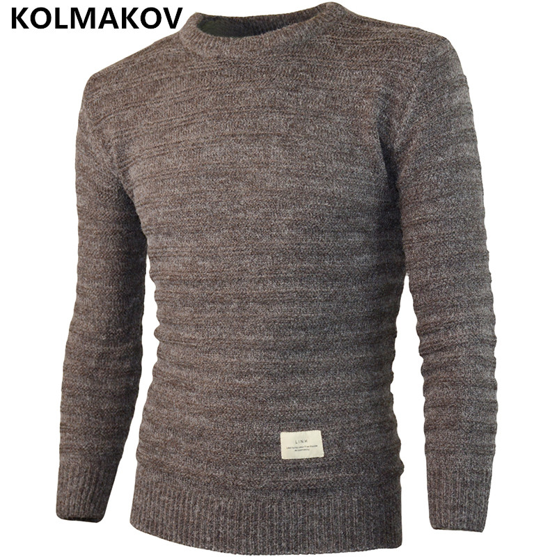 2018 New Fashion Mens sweater Men Homme Casual Mens Autumn Winter Wool Knitted Sweaters Men Slim fit Warm Pullovers Knitwear