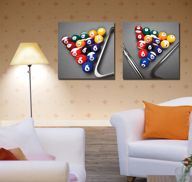 2 Piece Canvas Wall Art aliexpress : buy 2016 quadros de parede sala estar canvas art