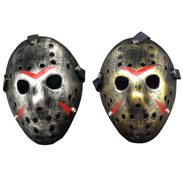 Halloween Maschere.Us 2 36 21 Di Sconto Vintage Festa Di Halloween Cosplay Maschere Jason Freddy Hockey Maschera Delicated Spessore Pvc Costume Masquerade Masque In