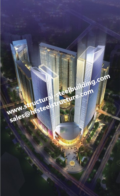 Residential Building Apartments Builders And Commercial Multi-storey Steel Buildings Contractor In China