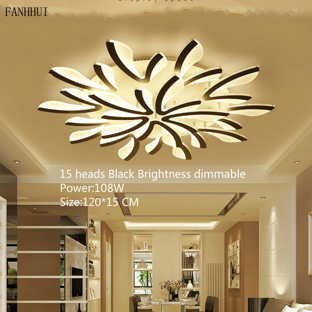 Acrylic Modern Led Ceiling Lights for Living Room Bedroom Dining Room Home Ceiling Lamp Lighting Plafond Avize Indoor Fixtures цена