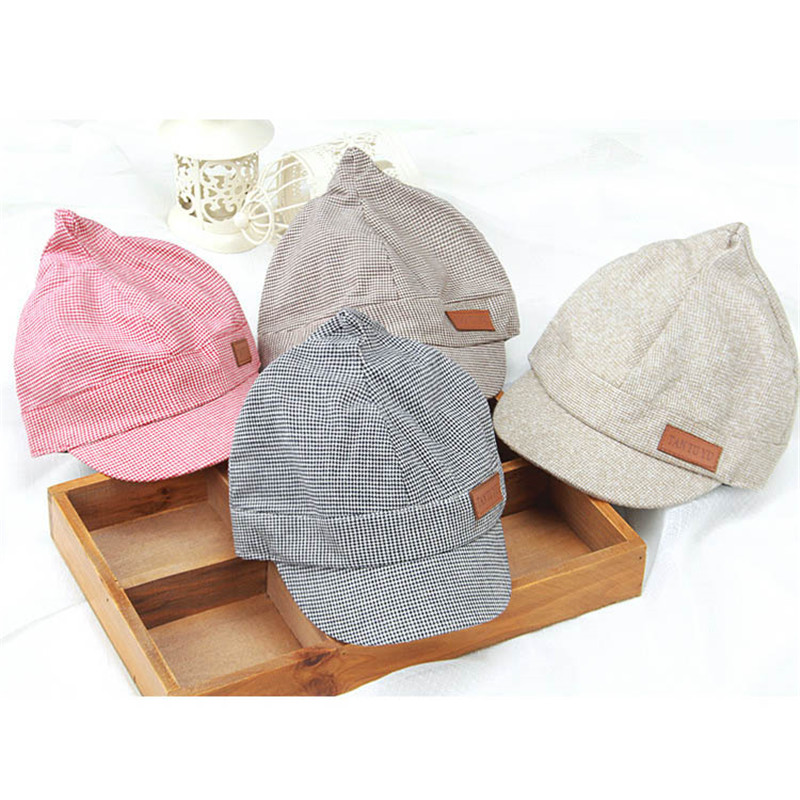 Men's Hats Children Infant Gorras Newborn Baby Baseball Caps Baby Hats Head Bebes Kids Steeple Caps Photograph Prop Headwear Hot