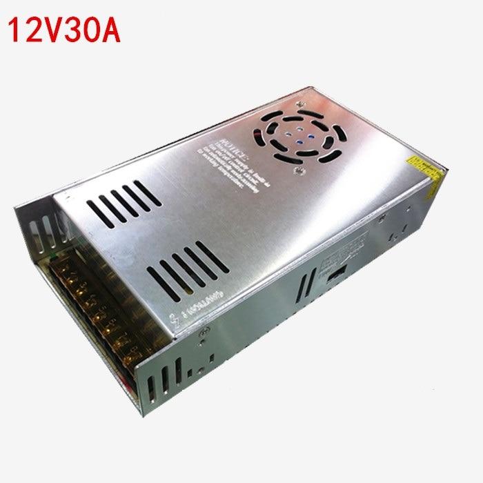 high quality 350W 12V 29A S-350-12 AC/DC Switching Standard <font><b>LED</b></font>/3d printer Power Supply