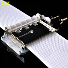 Zipi DIY 30 Tones Tape Hand Crank Music Mechanical Musical Box Set with Hole Puncher 20 Note Paper Strips Make Your Own Song