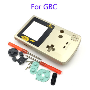 Image 2 - Gbc限定版シェル交換ゲームボーイカラーgbcゲームコンソールフルハウジング