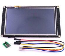 NX8048K050 Nextion 5.0 zwiększona HMI inteligentny inteligentny USART szeregowy UART dotykowy moduł TFT LCD Panel wyświetlacza dla Raspberry Pi zestaw