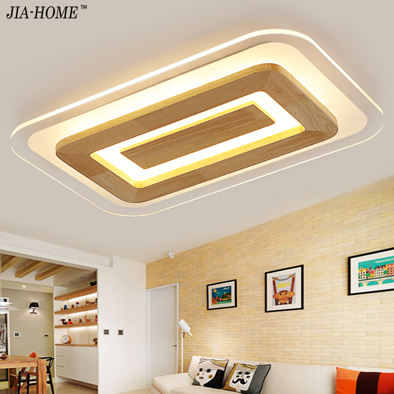 Dimmer led ceiling light in round and square lighting for living room bedroom flush mount home Decorative Lampshade