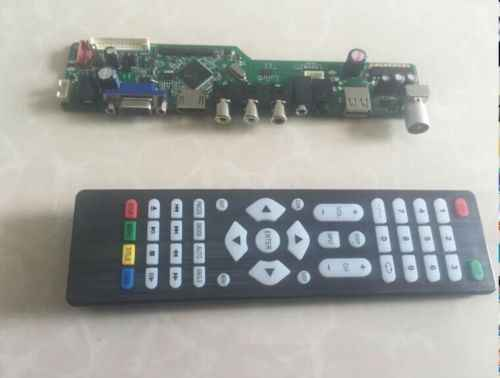 Latumab kit para lp154wx4 (tl) (a3) tv + hdmi vga usb lcd led controlador de tela placa motorista frete grátis