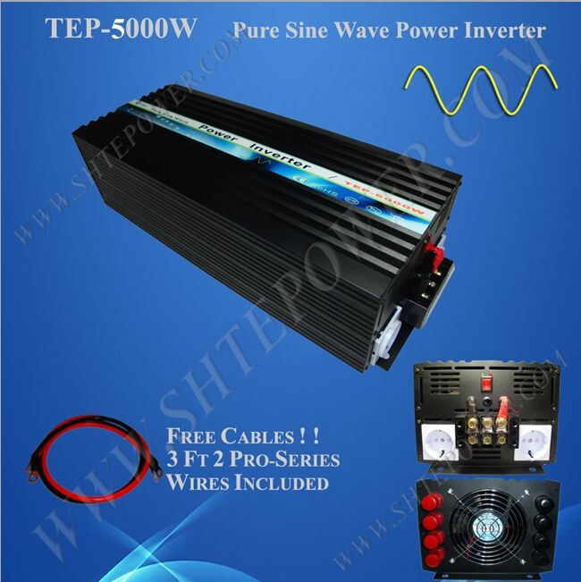 цена на 5kw 48v DC to AC off grid solar inverter, 5000w pure sine power inverter for off grid power system