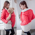 Maternity Clothes Comfortable Maternity Coat Thicken Warming Cotton Clothes For Holding Babies Pregnant Women Jackets 2 in 1 use