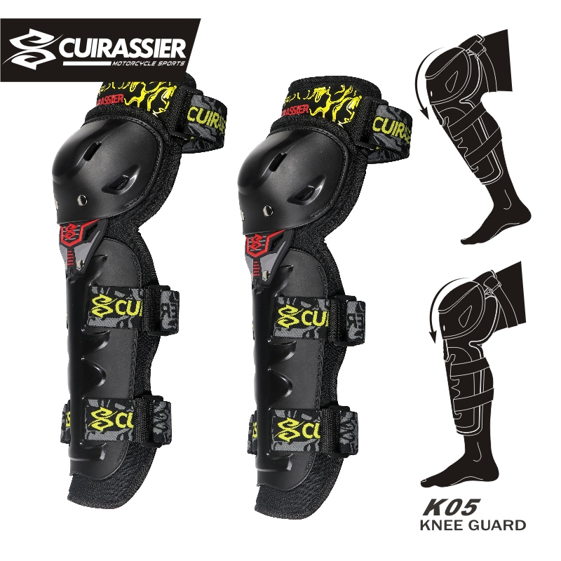 Motorcycle Protective kneepad Knee Pads Elbow Protector Off-Road Brace Racing Motorbike Protection Guards Motocross Cuirassier