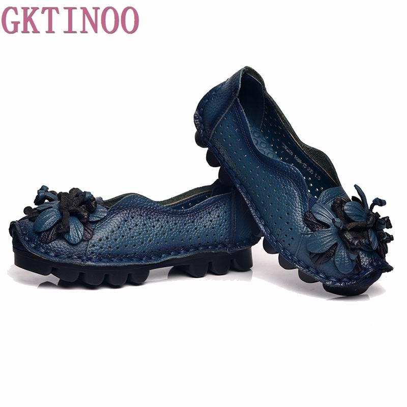 Handmade vintage cutout women's shoes genuine leather female moccasins loafers soft outsole casual shoes flats new style comfortable casual shoes men genuine leather shoes non slip flats handmade oxfords soft loafers luxury brand moccasins