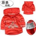 Primavera outono bebê camisola do bebê meninas outerwear crianças hoodies