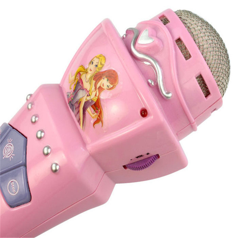 Free-Shipping-Pink-New-Wireless-Toys-for-Girls-boys-Children-LED-Microphone-Mic-Karaoke-Singing-Pretend-Kids-Funny-Gift-Music-4
