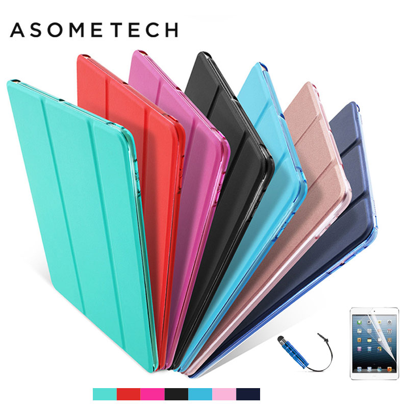 360 Protective Case Cover For ipad 2018 Magnet Flip Smart Stand for New ipad 9.7 inch 2018 Back Cases Luxury Leather Capa Para image