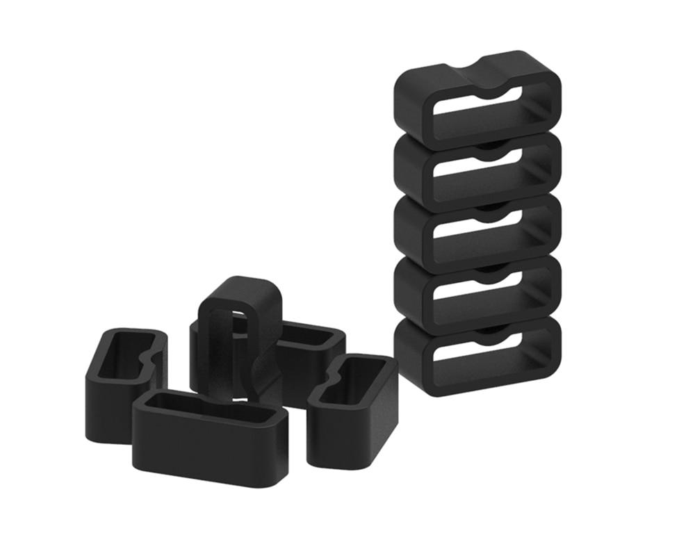 XBERSTAR Replacement Silicone Belt Safety buckle for garmin vivosmart hr+ Smart Watchbands buckles for garmin vivosmart HR Plus