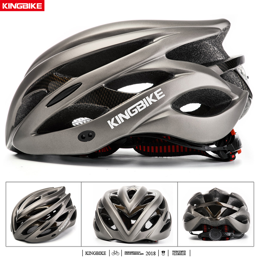KINGBIKE Cycling Helmet Mtb Road Bike Helmet Mountain Bicycle Helmet Outdoor Sports Collision Protection Fietshelm for Scooter