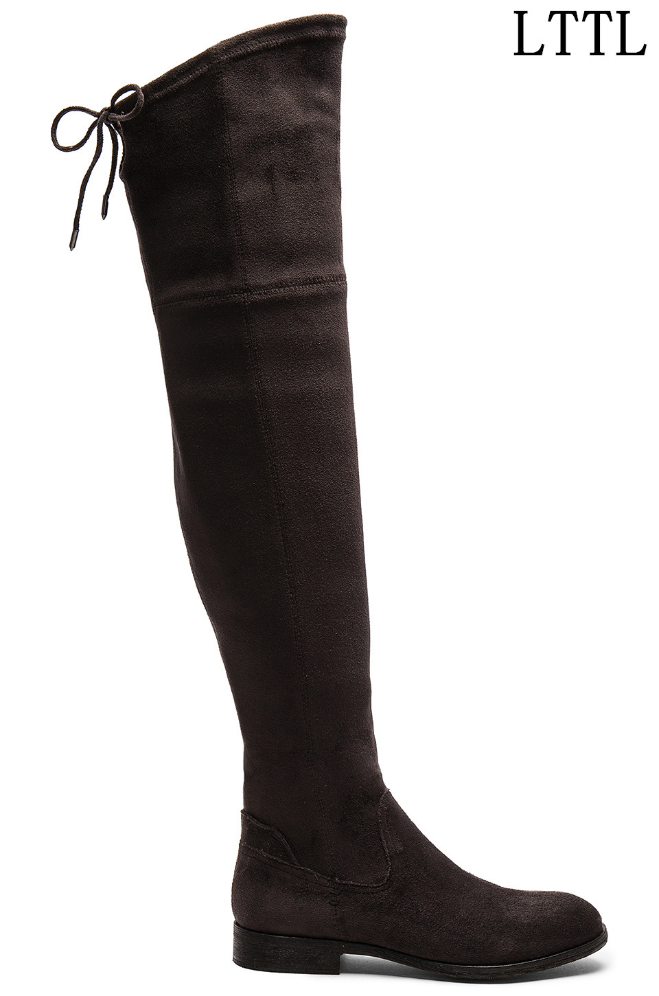 Factory Price Women Sexy Thigh High Boots Suede Exquisite Back Lace-up Long Boots Fashion Skinny Winter Low Heels Boots