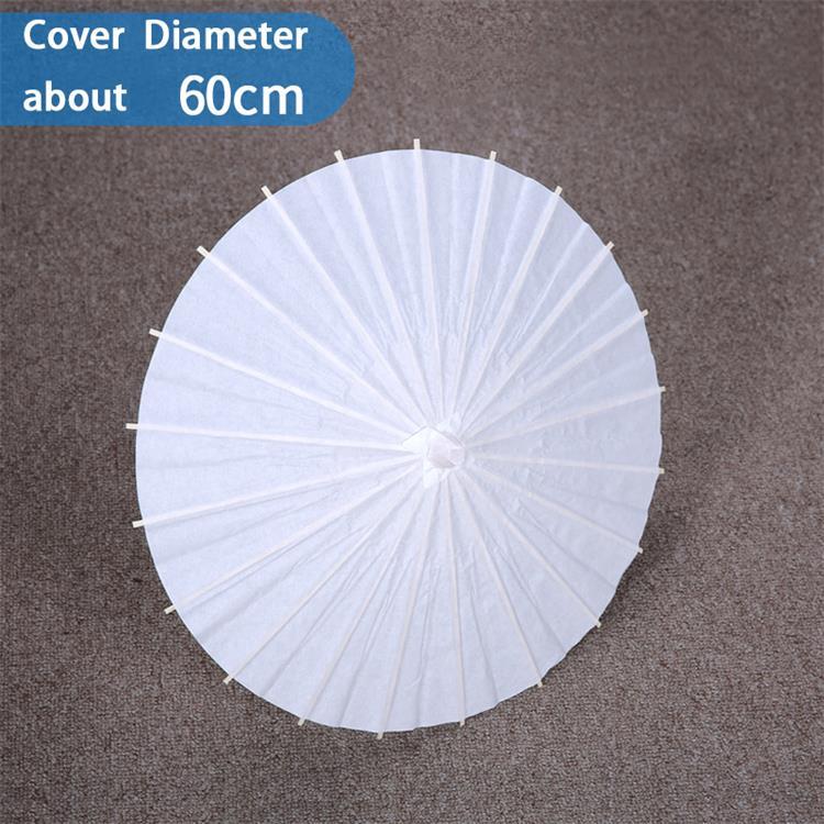 White Paper Umbrella Wedding Party Parasol 32in #13289 S-2194