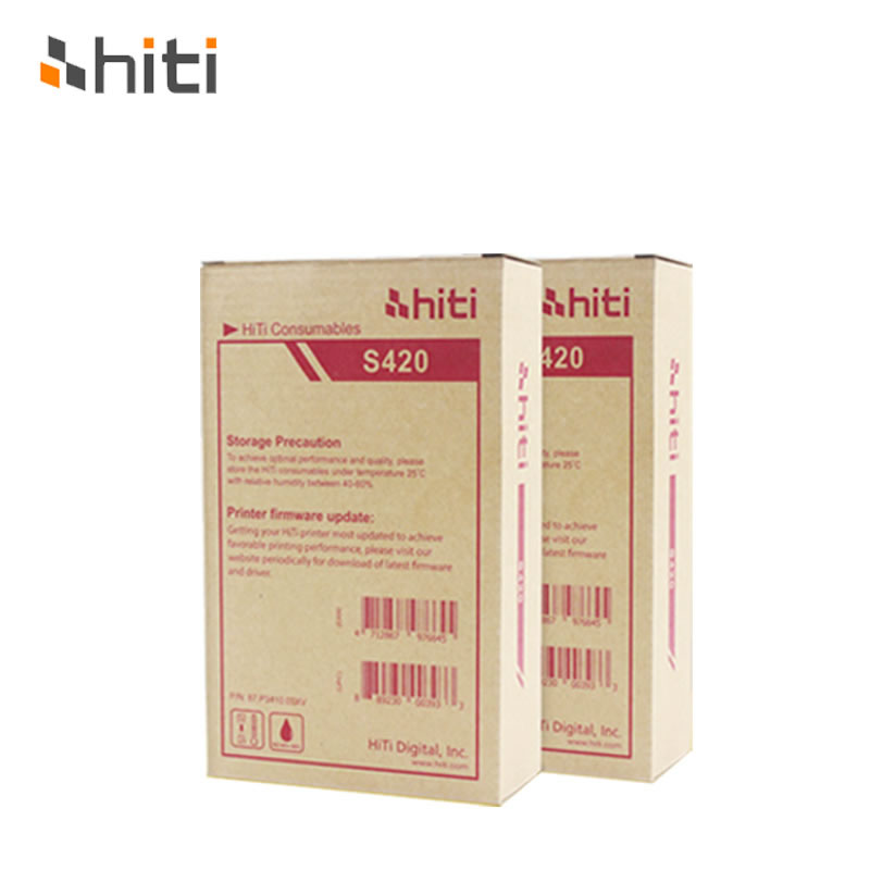 Free shipping!! Printer photo paper used for HITI photo printer S420, printing paper, 50pcs/bagFree shipping!! Printer photo paper used for HITI photo printer S420, printing paper, 50pcs/bag