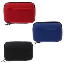 New Travel External HDD Hard Disk Drive Powerbank EVA Carrying Case Storage Bag Durable Nylon Waterproof Handbags