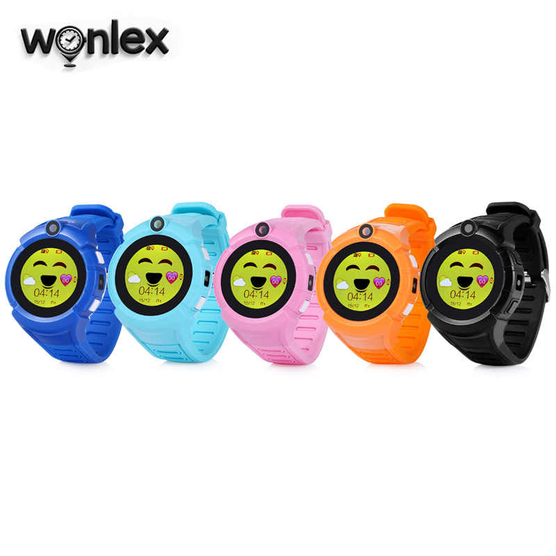 Wonlex GW600/Q360 WiFi GPS Positioning Pedometer SOS Remind Sleep Remote Monitor Kids Smart Watch with Camera Best Gift for Kids