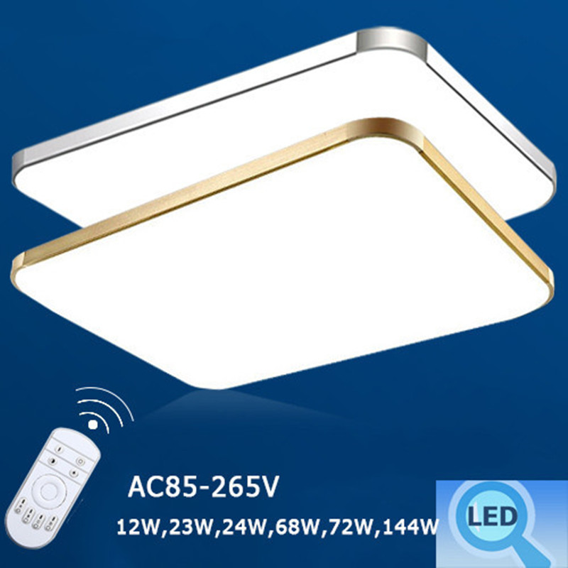 aliexpresscom buy modern flush mount led ceiling lights living room aluminum acryl lampshade ceiling lamps fixture indoor lighting luminarias from