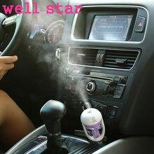 12 V Mini Del Coche Del Aire Humidificador De Vapor Purificador de Aceite Esencial de Aromaterapia Aroma Difusor Fabricante de La Niebla Fogger Mini-P4447