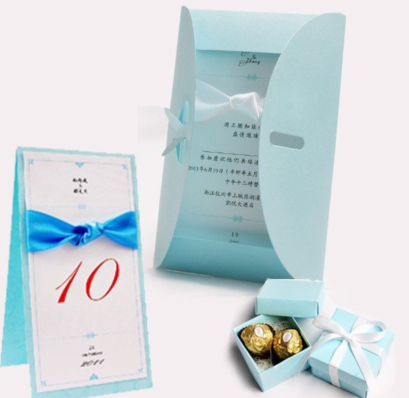 Gift Box Wedding Invitations: Aliexpress.com : Buy Save $40, Wedding Invitation Set, 100