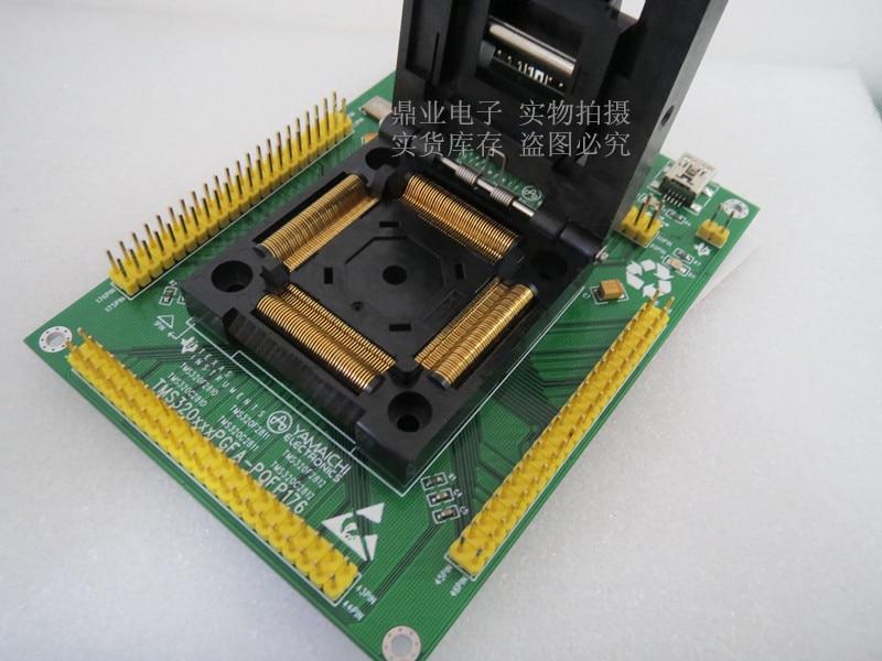 Adaptateur de siège à clapet LQFP176 adaptateur de siège rotatif IC banc dessai de prise dessai de siège en stock livraison gratuite