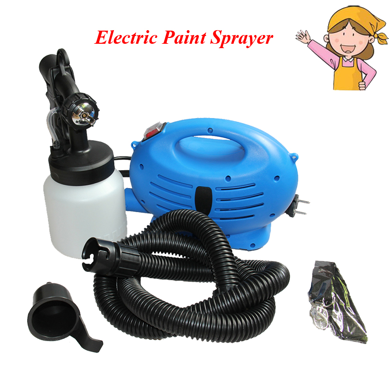 220V 650W Electric Paint Sprayer 800ml Paint Cup Electric Airbrush HVLP Paint Spray Gun Paint Wall Wood hd 2 hvlp devilbiss spray gun gravity feed for all auto paint topcoat and touch up with 600cc plastic paint cup