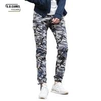 2017 Men Casual Pants Camouflage Tactical Pants Mens Joggers Camo Pants Mens Sweatpants Army Slim Fit