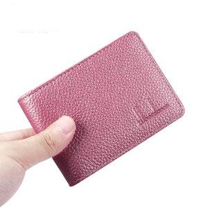 Image 2 - Кожаный держатель для карт Zor Dany, держатель для карт duo ka wei xing shi zheng tao